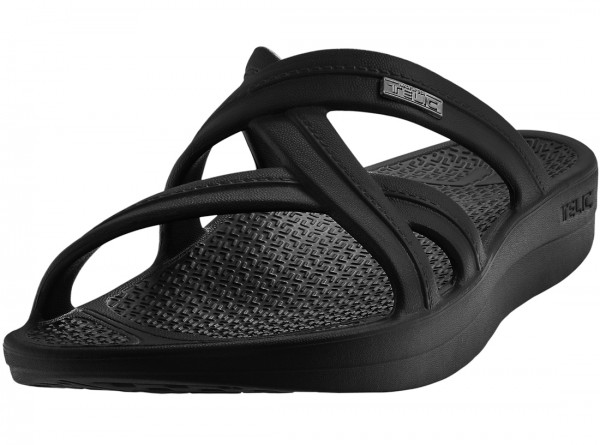Mallory Sandal Midnight Black
